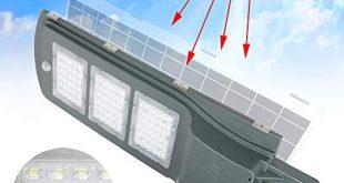 Aufun Strassenlampe Solar 60W LED Strassenlaterne mit Lichtsteuerung und Motion 310x165 - Aufun Straßenlampe Solar 60W LED Straßenlaterne mit Lichtsteuerung und Motion Sensor Akku Wasserdicht IP65 60 LEDs Straßenleuchte für Outdoor Garten Wege Park Einfahrten