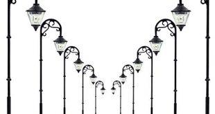 Evemodel 10 STK 63mm Spur H0 00 LED Leuchte 310x165 - Evemodel 10 STK. 63mm Spur H0 / 00 LED Leuchte Straßenlampen NEU LYM55